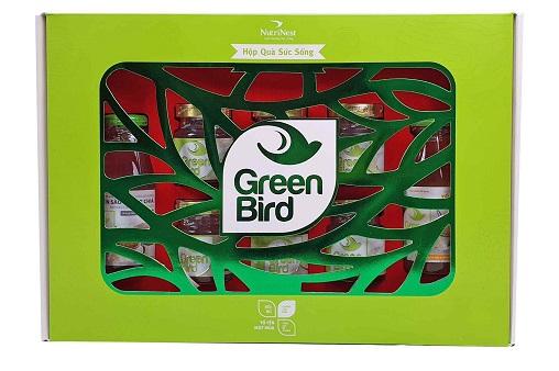 Nutrinest - Green Bird Sức Sống – Hộp 8 Hũ Nước Yến