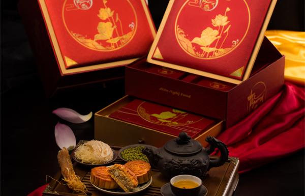 Bánh Trung Thu Yến Sào – Hộp Thăng Long Đế Nguyệt
