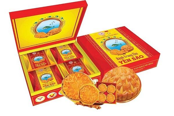 Bánh Trung Thu Yến Sào Sanest - Hộp 4 Bánh