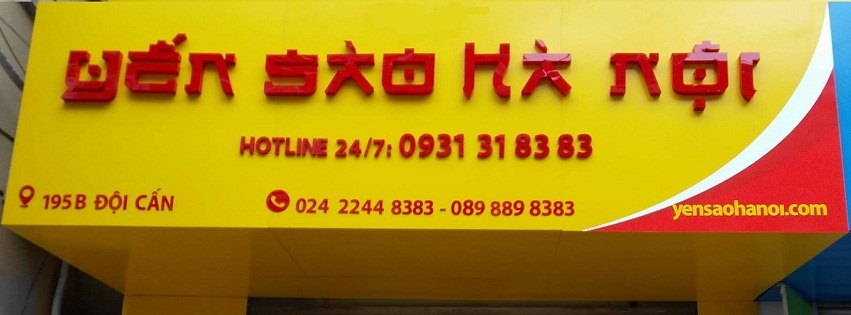 Cửa hàng Yến sào Hà Nội
