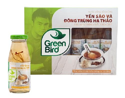 Nutri Nest - Nước Yến Sào & Đông Trùng Hạ Thảo – Hộp quà 6 chai 185ml