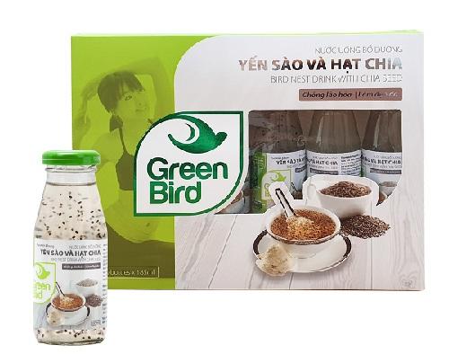Nutri Nest - Nước Yến Sào & Hạt Chia – Hộp quà 6 chai 185ml