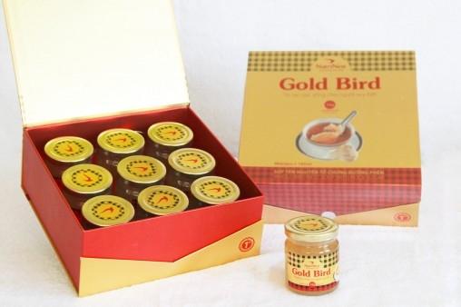 NutriNest - Gold Bird hộp quà 9 lọ 185gr