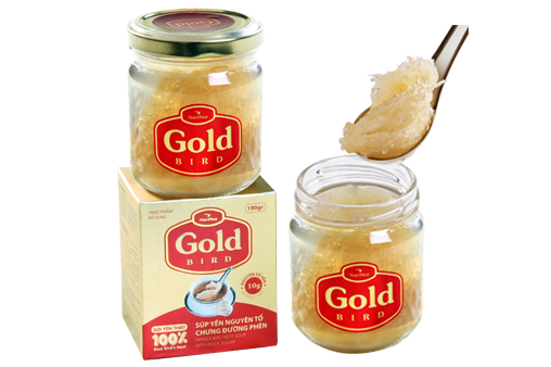 NutriNest - Gold Bird lọ nguyên tổ 185gr