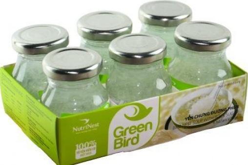 NutriNest - Green Bird lốc 6 lọ 75gr