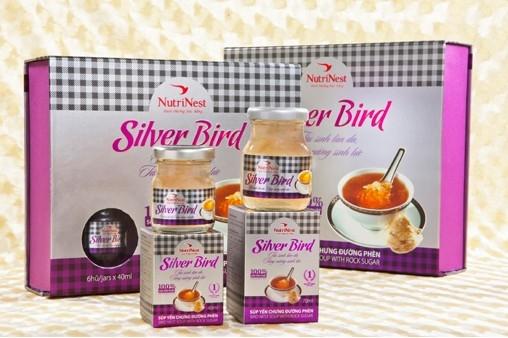 NutriNest - Silver Bird hộp quà 6 lọ 45gr