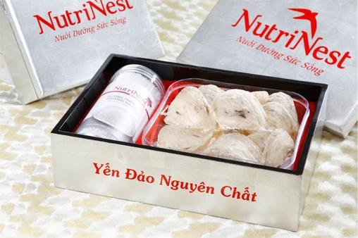 NutriNest - Yến đảo nhân tạo nguyên tổ 100g