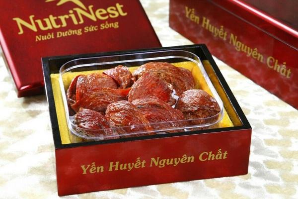 NutriNest - Yến huyết đảo nguyên tổ 50gr