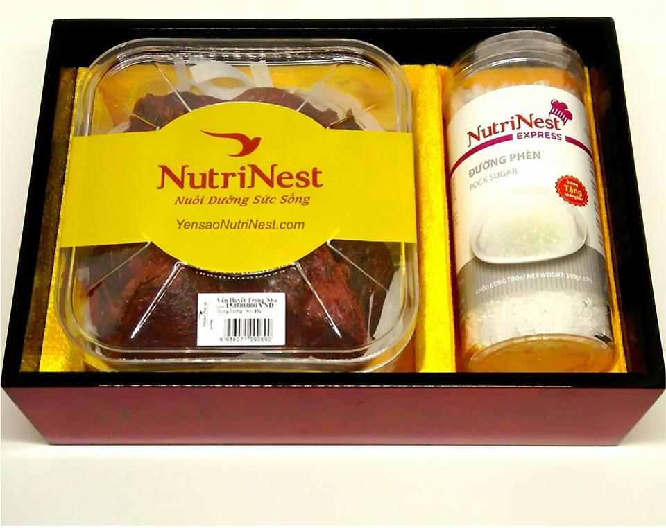 NutriNest - Yến huyết nhà nguyên tổ 100g
