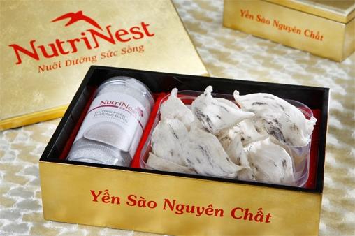 NutriNest – Yến sào nguyên tổ góc 100g