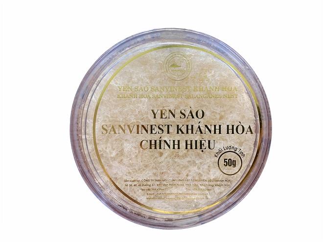 Yến sào Sanvinest Khánh Hòa tinh chế 50g